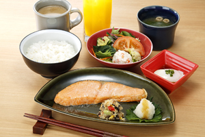 Japanese breakfast meal ¥870