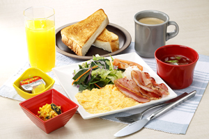 Café breakfast meal ¥870