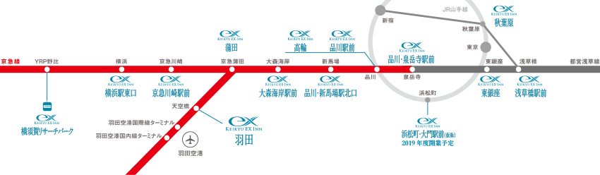 沿線マップ/京急EXイングループ