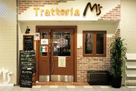 TRATTORIA M's(当ホテル地下1階)