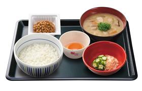 朝まぜごはん納豆定食