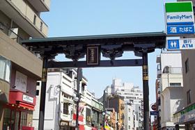 新馬場商店街(当ホテルから徒歩約1分)