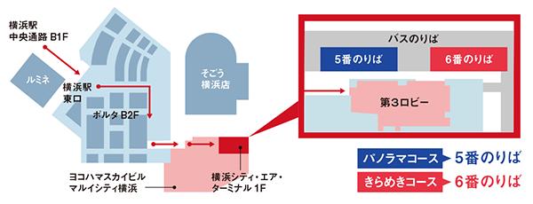 KEIKYU OPEN TOP BUS/乗り場案内