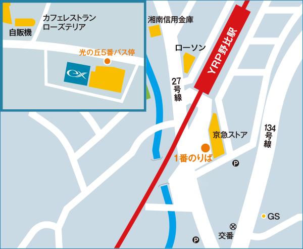 駅周辺・ホテル周辺地図